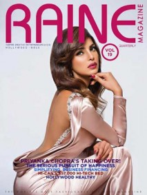 Priyanka Chopra Raine Magazine